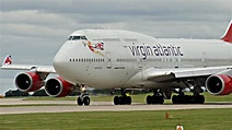 SHORTEST 747 TAKEOFF EVER?! Virgin Atlantic Boeing 747-400 ...