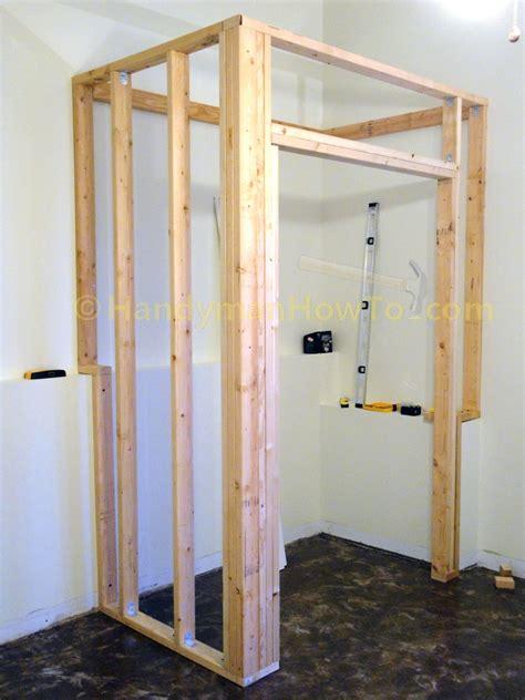 Make A Closet On A Wall by How To Build A Basement Closet Part 4
