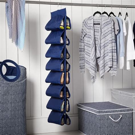 Hanging Closet Shoe Storage, Solid Pbteen