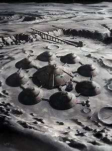 Nazi Moonbase - Moon Base by wraithdt on DeviantArt