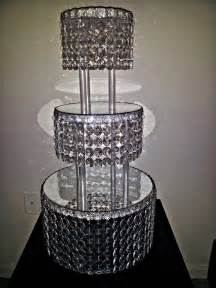 cake stand wedding 1 metre clear garland wedding cake stand decorations ebay