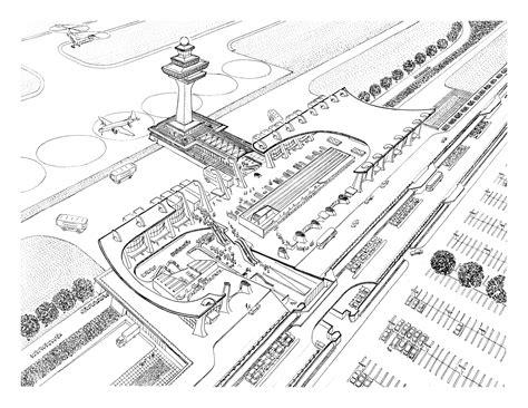 dulles international airport  eero saarinen associates