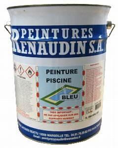 Peinture Pour Piscine : renodyne 60 peinture pour piscine base de caoutchouc ~ Nature-et-papiers.com Idées de Décoration