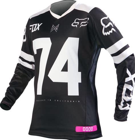 wholesale motocross gear 23 22 fox racing womens switch jersey 235509
