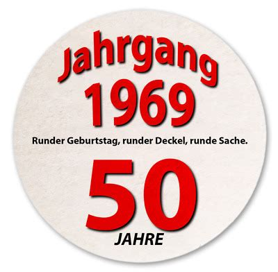 10 geburtstag deko 10 st 220 ck bierdeckel 50 geburtstag deko geschenkidee geburtsjahr 1969 neu eur 4 95