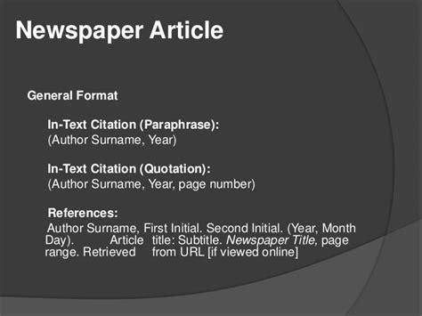 Apa Citation Style 6th Edition