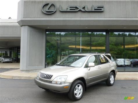 gold lexus rx 2003 burnished gold metallic lexus rx 300 awd 67012348