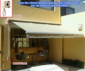 Store électrique Terrasse : store a banne electrique ~ Premium-room.com Idées de Décoration