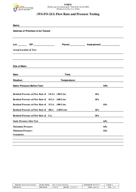 beaufiful hydrostatic pressure test report template images