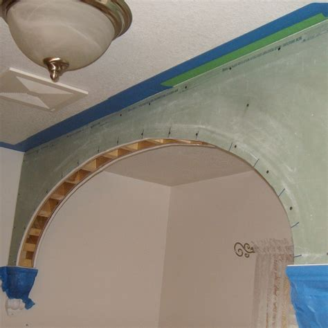 how to make a door in drywall how to make drywall or sheetrock arches and arch doorways