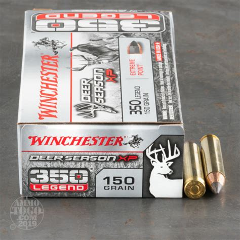350 Legend Polymer Tipped Ammo For Sale By Winchester 20