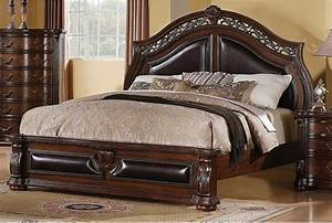 Morocco king bed the brick for Furniture and mattress warehouse king
