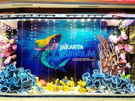 jakarta aquarium wisata mewah melihat hewan laut