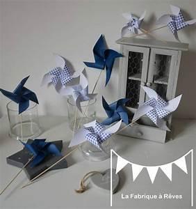 Deco Chambre Bebe Bleu : deco bapteme garcon bleu et gris ~ Teatrodelosmanantiales.com Idées de Décoration