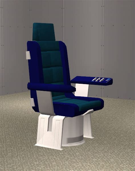 mod the sims star trek enterprise captains chair
