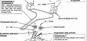 Honda 4514 Belt Diagram