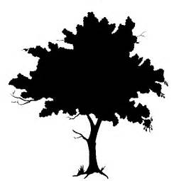 silhouette trees clipart best