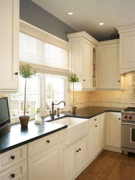tile in kitchen sink traditional kitchen with farmhouse sink by west 6157