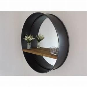 Miroir Mural Pas Cher : grand miroir rond pas cher adslev ~ Teatrodelosmanantiales.com Idées de Décoration