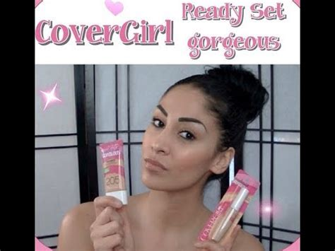 Covergirl Ready Set Gorgeous Foundationconcealer Review