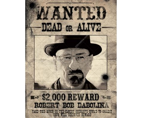 1920s Wanted Poster Template - Costumepartyrun