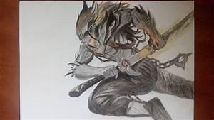 Speed Drawing Yasuo Nightbringer
