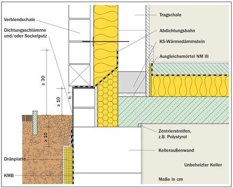 2 schaliges mauerwerk zweischaliges mauerwerk d 228 mmstoffe wand baunetz wissen