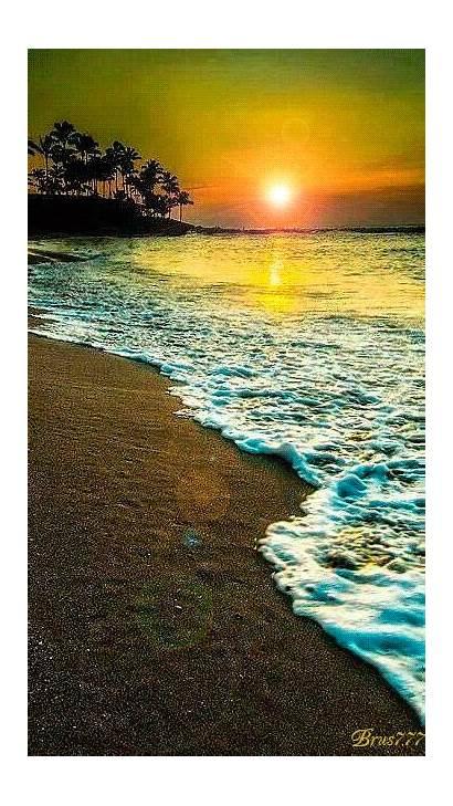 Beach Sunset Amazing Sunsets Beaches Background Iphone