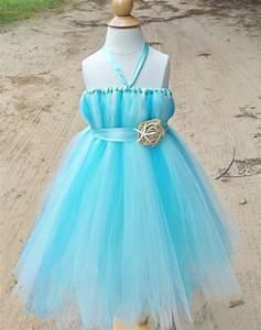 items similar to beach wedding flower girl dress aqua With flower girl dresses for beach wedding