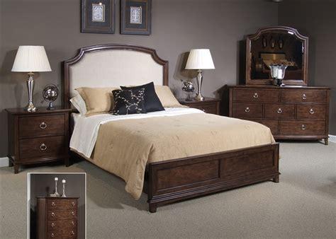 bedroom set midland for midland park platform bed 6 bedroom set in toffee