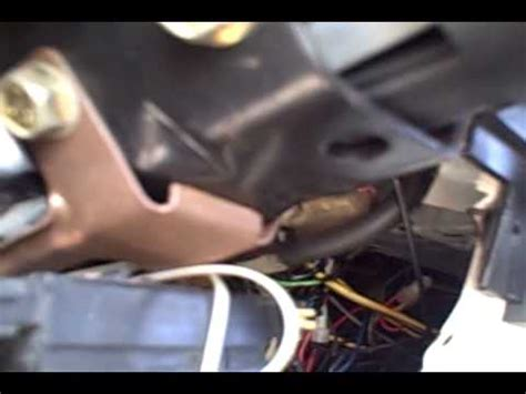 changing turn signal lever   gmc jimmy youtube