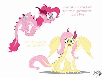 Pony Ponies Mlp Dragon Friendship Dragons Magic