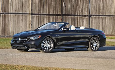 May 08, 2017 at 9:00am et + + share on facebook; 2017 Mercedes-AMG S63 Cabriolet   Cars Exclusive Videos and Photos Updates