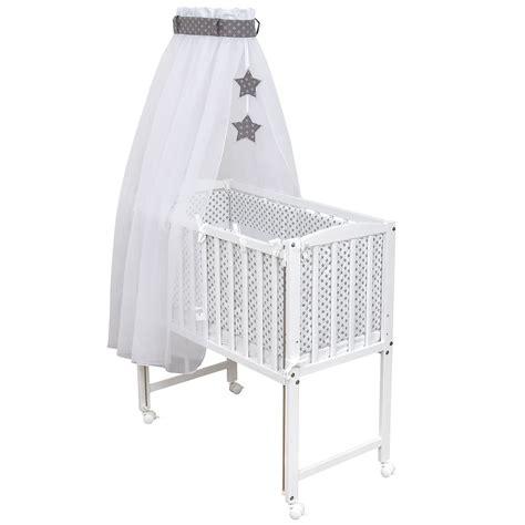 beistellbett babybett  weiss inkl matratze