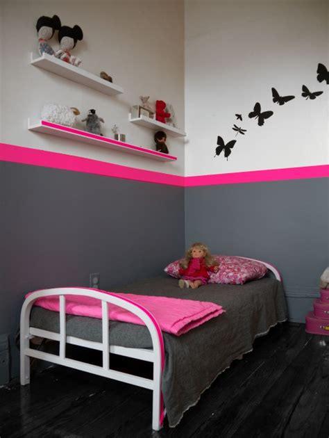 chambre fille gris decoration chambre fille gris
