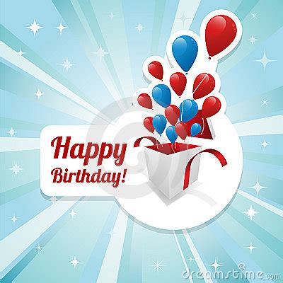 illustration  happy birthday card stock photography