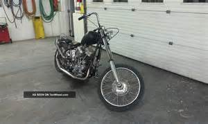Old School Chopper Harley-Davidson