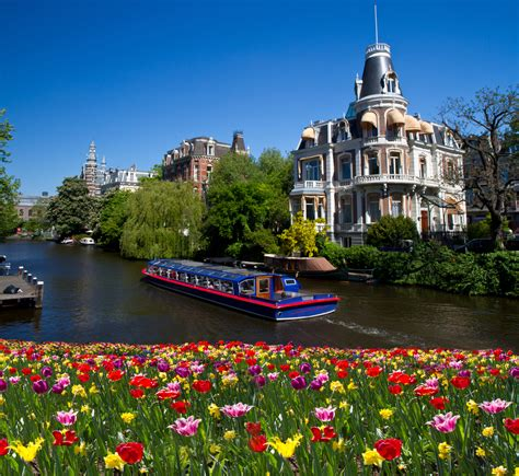 Vibrant Amsterdam Netherlands World For Travel
