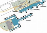 Barcelona Airport Terminal 1 Gate Map
