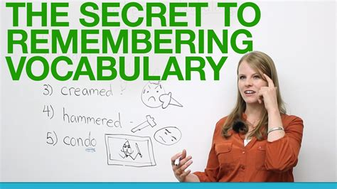 The Secret To Remembering Vocabulary Youtube