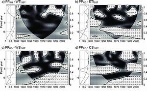 Wavelet Coherence Analysis Of The Pp Rg And Indian Ocean
