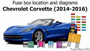 Fuse Box Location And Diagrams  Chevrolet Corvette  2014