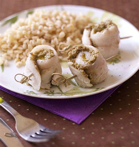 filets de merlan roulés aux olives les meilleures