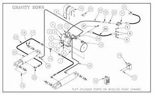 Thieman Conventional Liftgate  30  40 Parts Diagrams