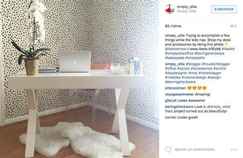 petit bureau blanc instagram une tonne d idées pour un joli bureau cocon