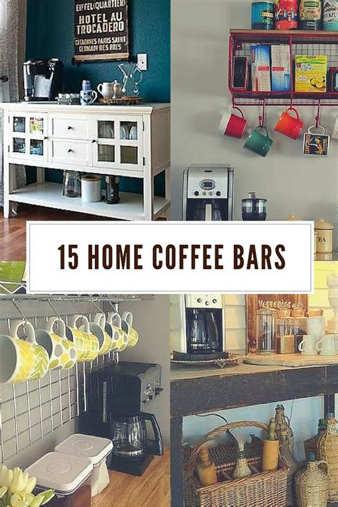 Home Coffee Bar Design Ideas by 30 Coffee Bars To Put Pep In Your Home Design Diy