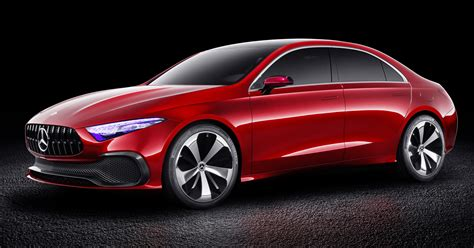 Mercedes Benz Concept A Sedan Officially Revealed Image 647186