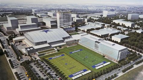 Cowboys' new complex will be called The Ford Center at The ...
