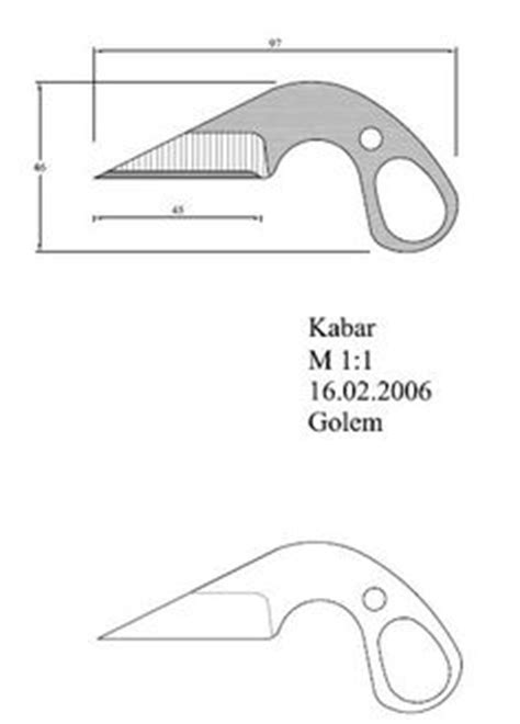 Knife Designs Patterns Drawings   Thread: How I design my