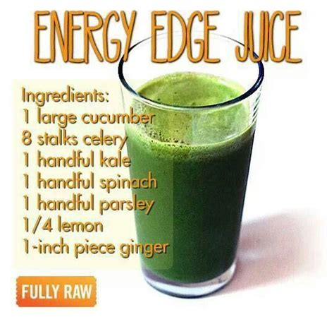 energy juice recipes juicing edge healthy boost smoothie recipe drinks snack mean dead detox fullyraw health juices living fruit sick